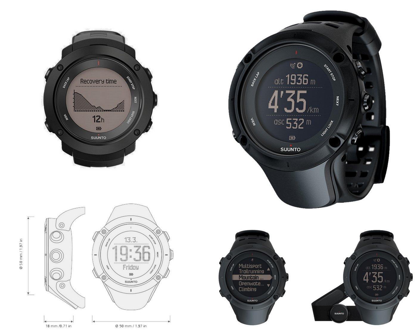 שעון ריצה סונטו אמביט 3 - משווק על ידי דוגית