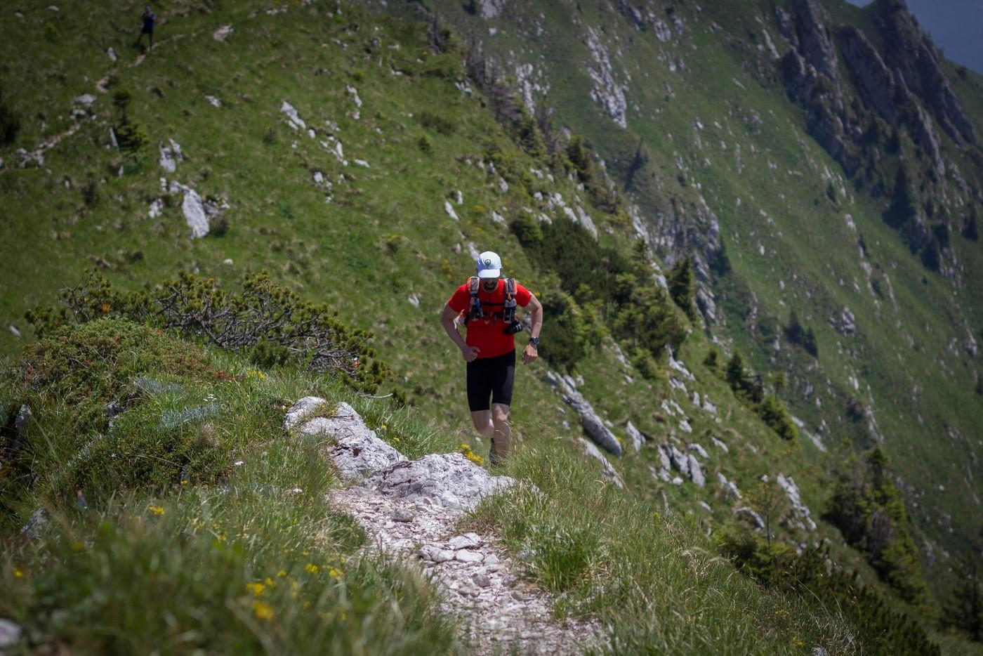 אילן פריש מטפס במחנה האימונים של Summit בסלובניה