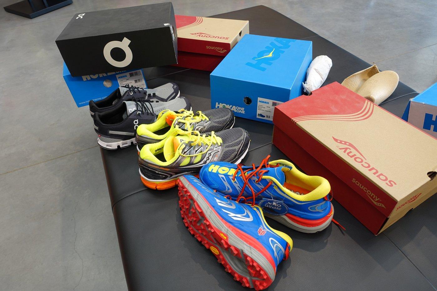 המועמדות הפעם: OnCloud, Sacouny ו Hoka נעלי ריצה מצויינות