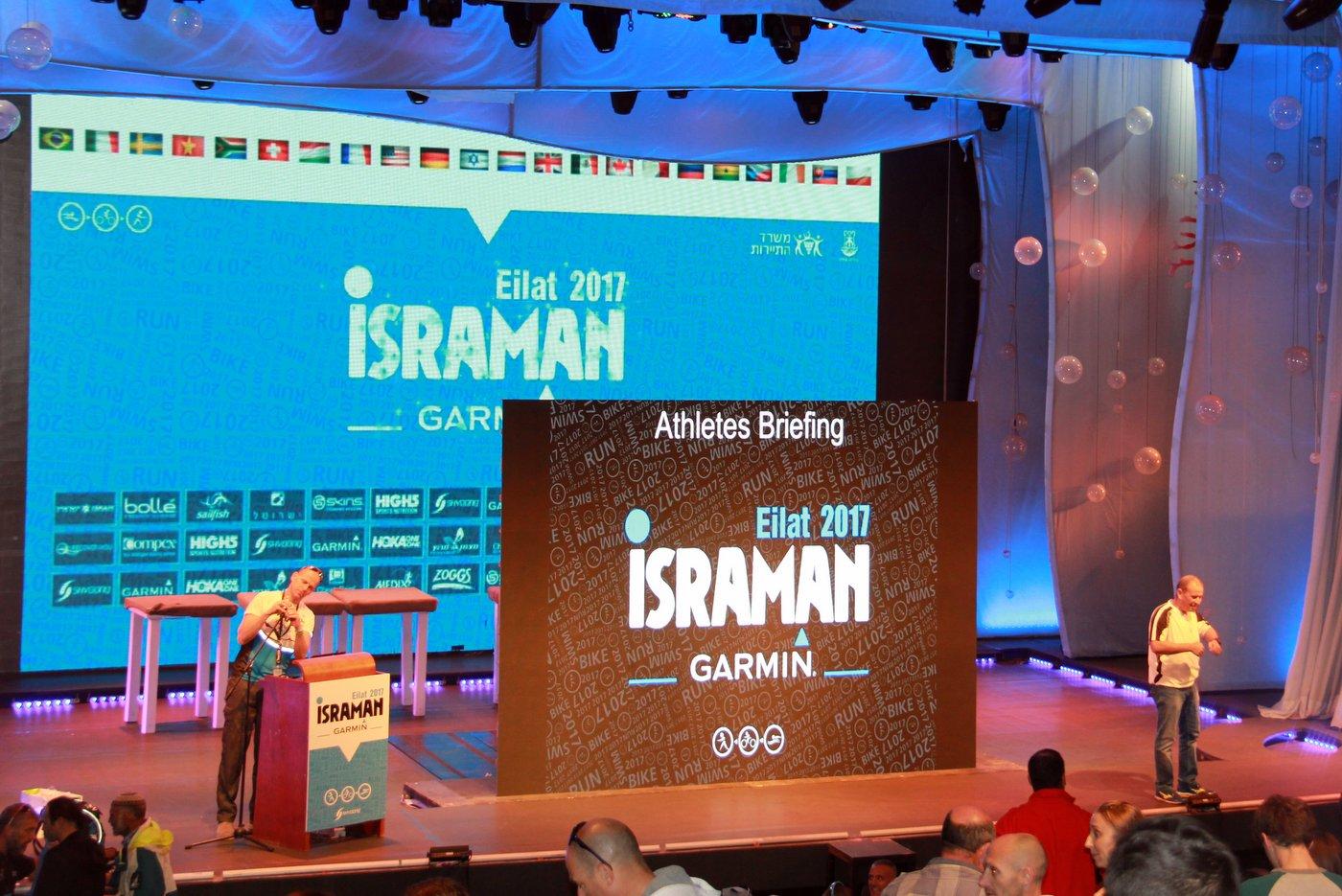 Israman triathlon - Eilat 2017