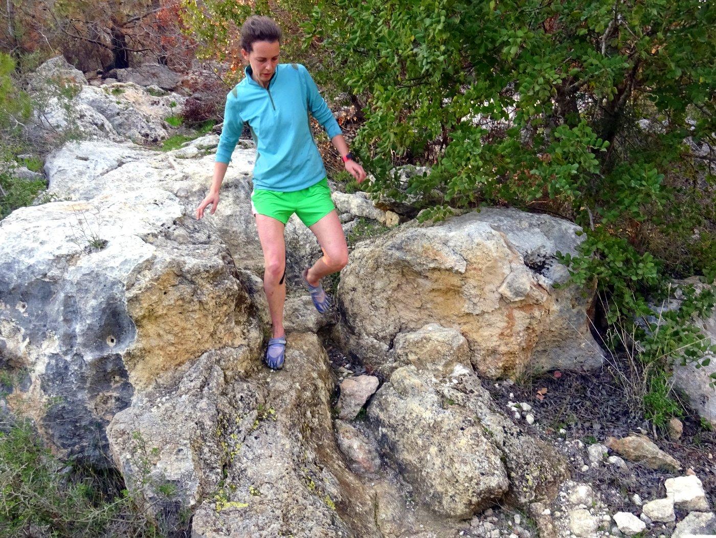 minimalistic and barefoot running