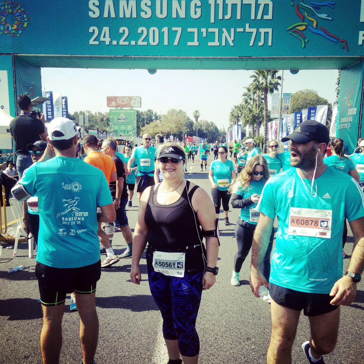 מרתון תל אביב 2017