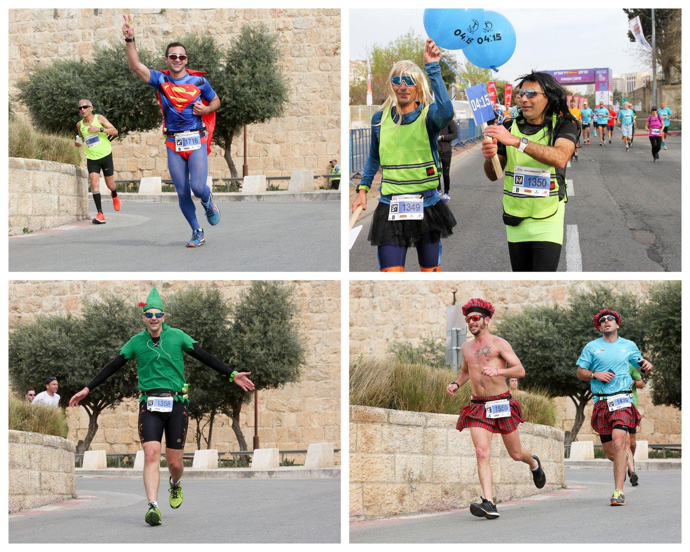 מרתון ירושלים 2017