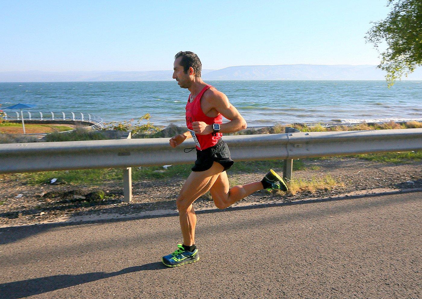 Marathon Run in Israel