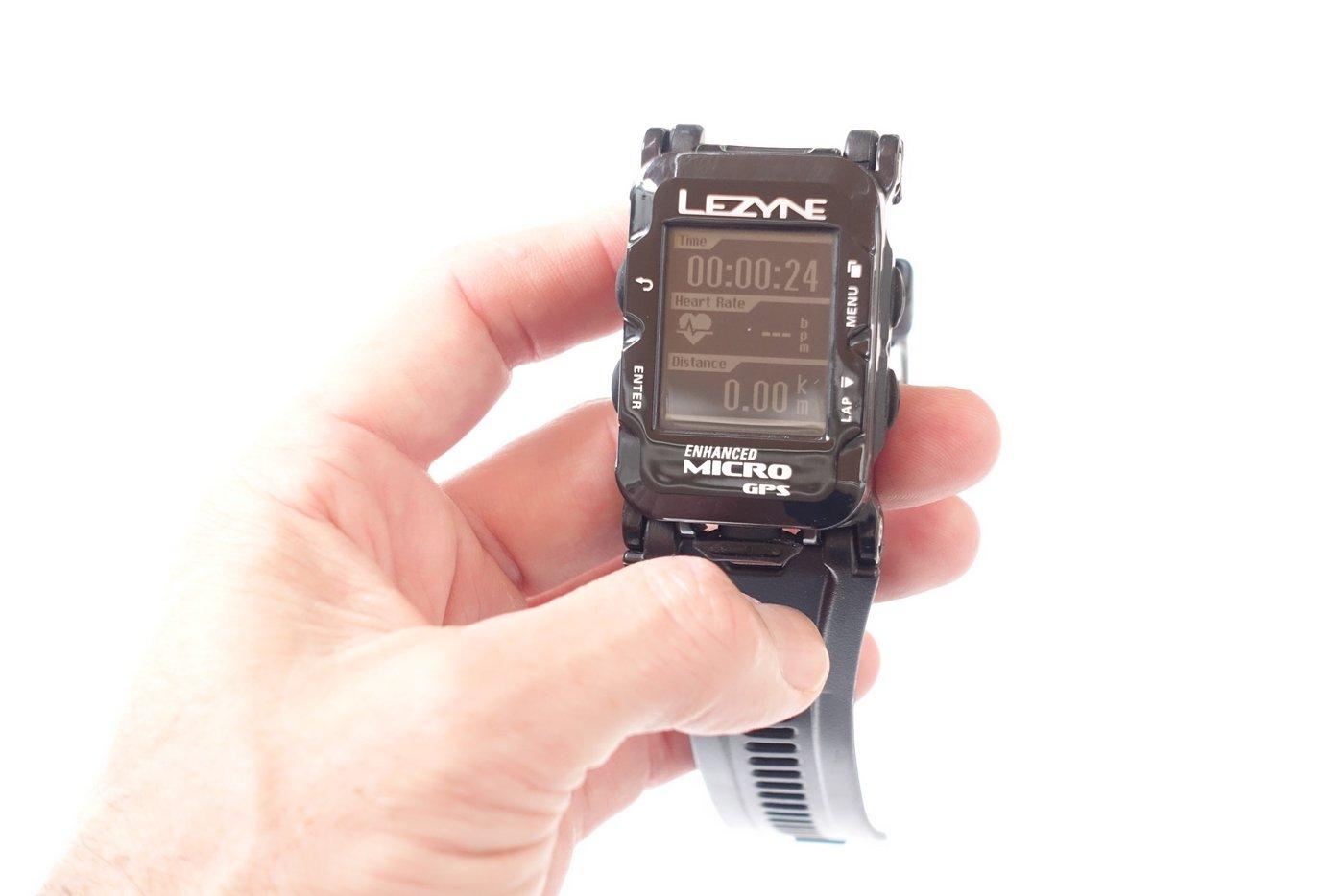 שעון ריצה של Lezyne