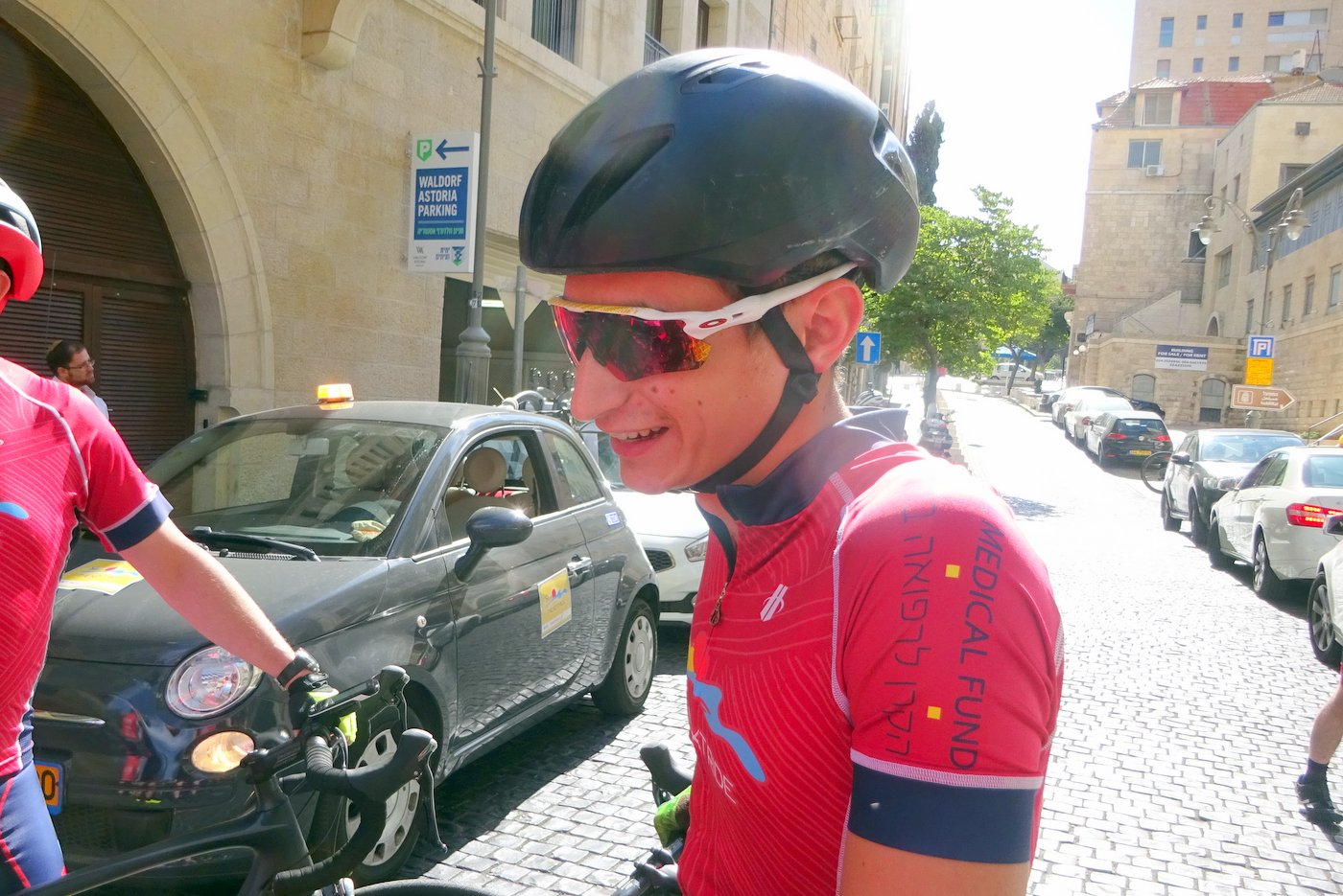 Israeli triathlon pro - Ran Sagiv