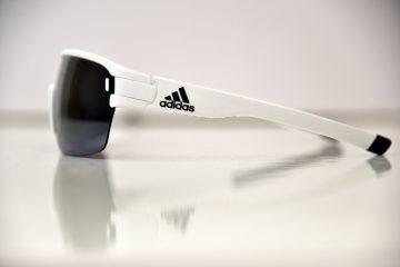 משקפי Adidas לבנים Zonyk Aero