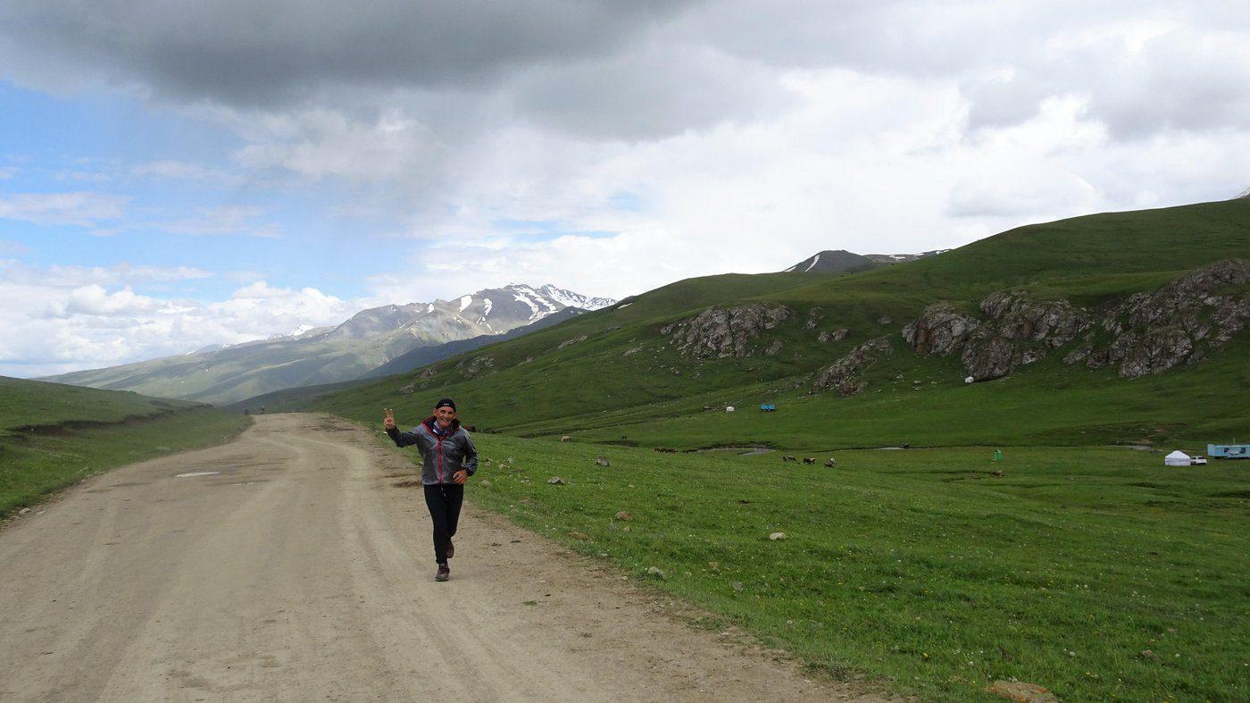 ריצה בקירגיזסטן