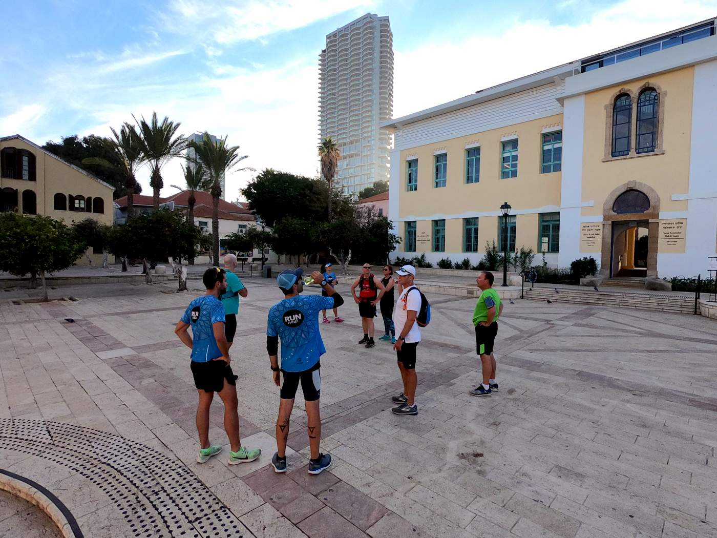 ריצה לקראת מרתון תל אביב