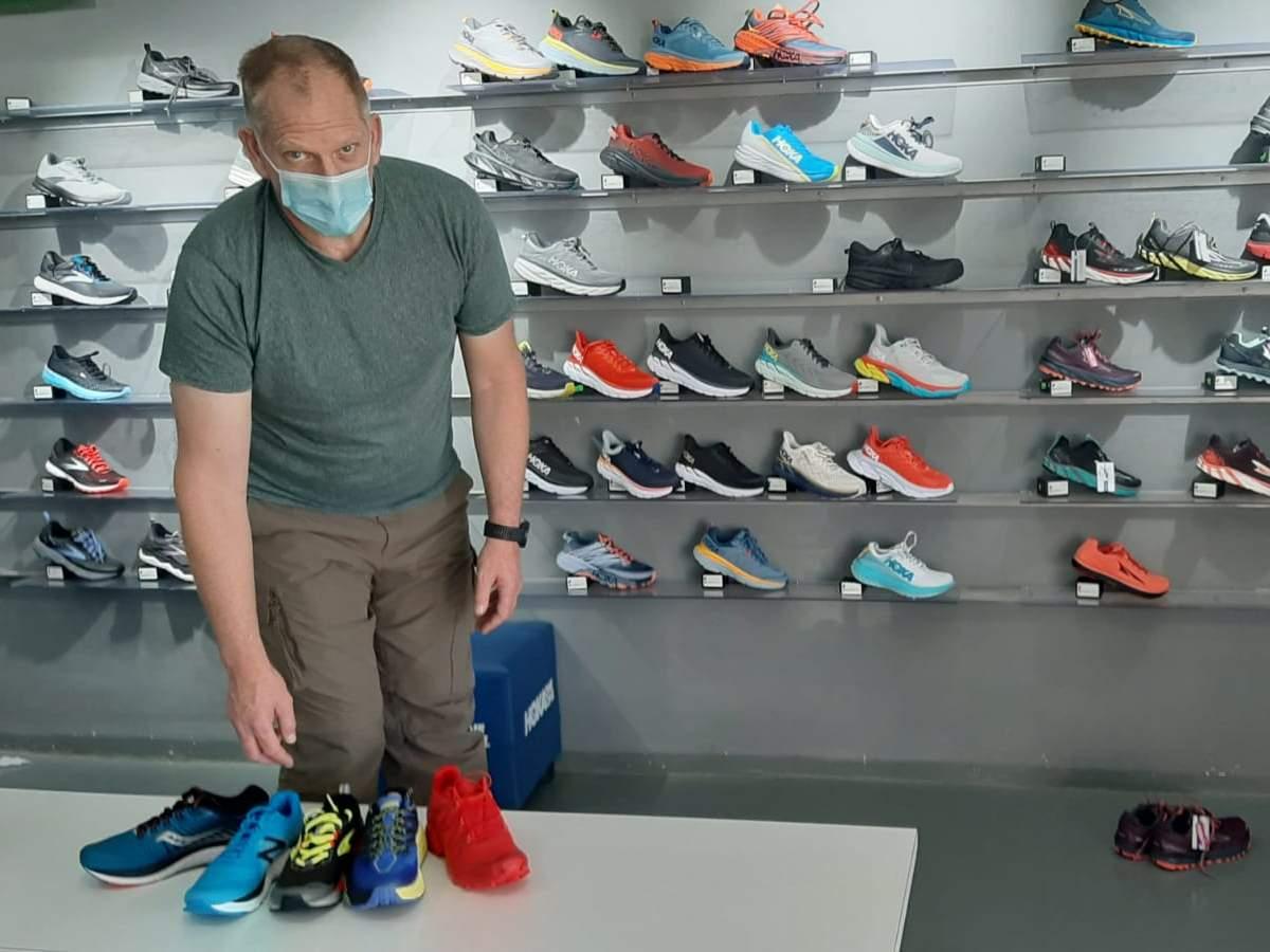 סקירת נעלי ריצה