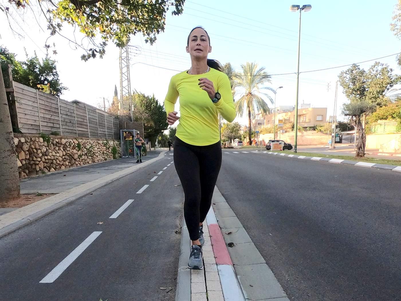 יוגה לפני ריצה