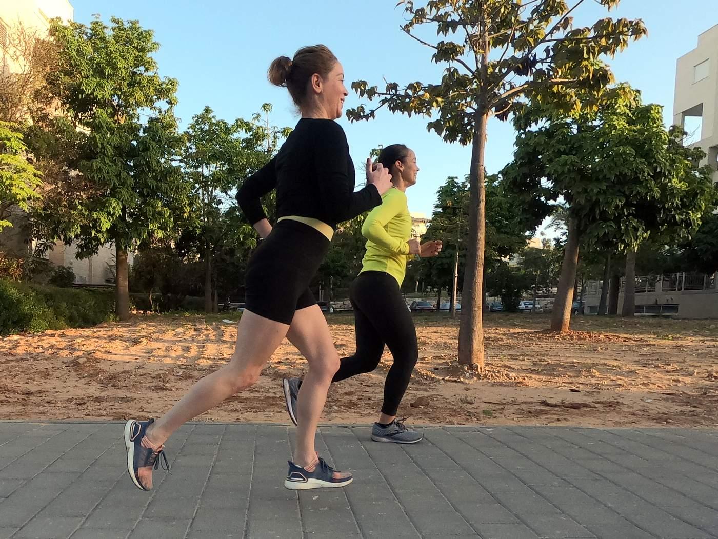 שרון אילון yoga run