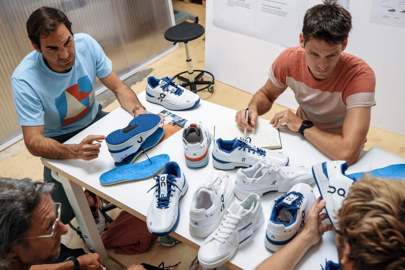 נעלי הטניס של פדרר