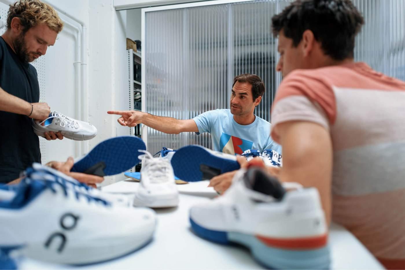 פדרר נעלי טניס