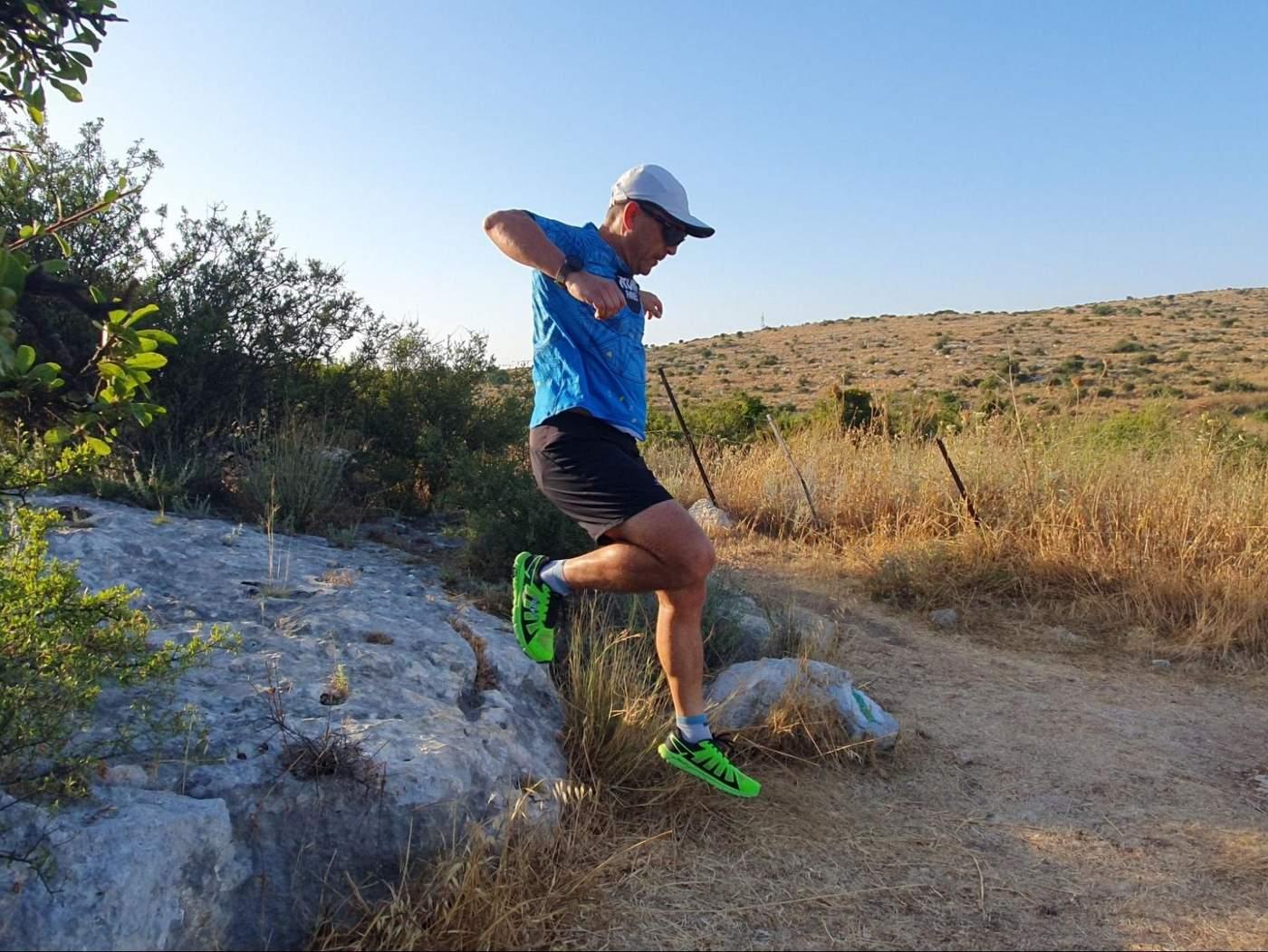 Zero drop trail running